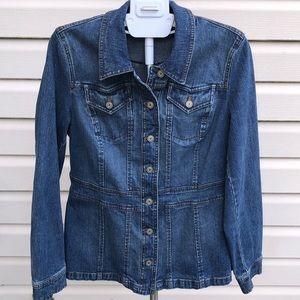 Style & Co. Jean Jacket Coat for Women Size M